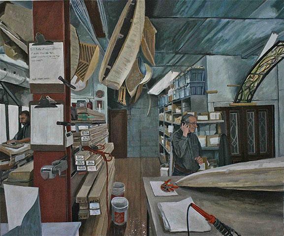 3.Bill-in-Studio--7'x6'-Lanny Shereck